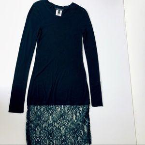 BCBG Black Lace Mini Dress Size Medium
